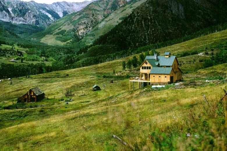 - Western Ranch House in Colorado