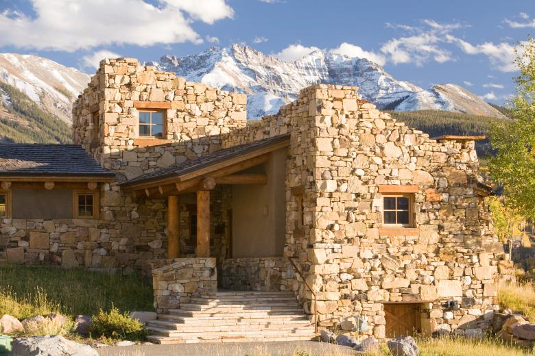Close-up Exterior - Guest Residence in Near Telluride, CO