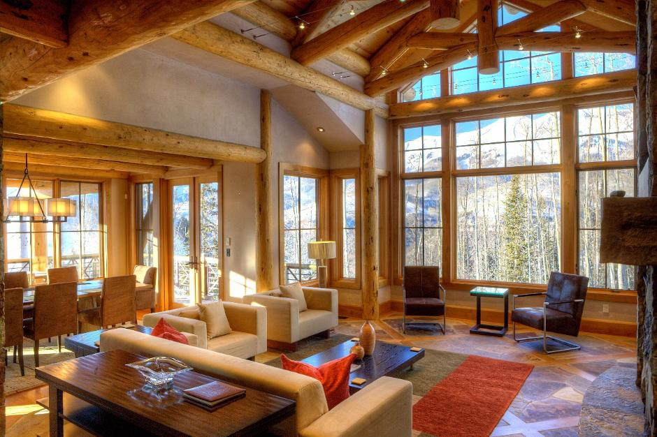 117 Living Room - Ski Home in Telluride Mountain Village, CO