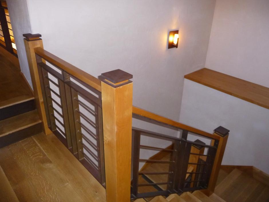 117 Stair Detail - Ski Home in Telluride Mountain Village, CO