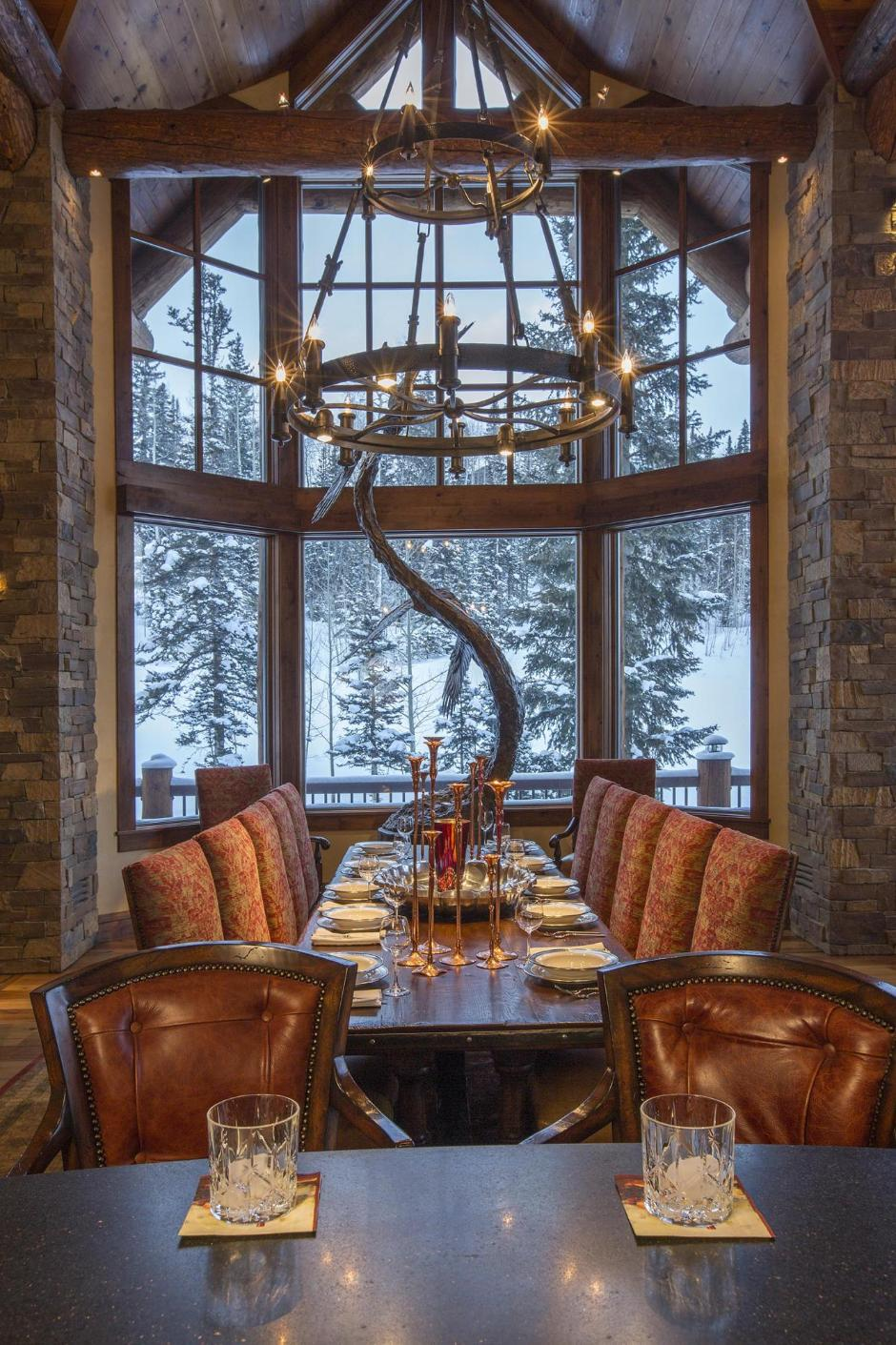 134 Dining Room - Mountain Retreat in Colorado