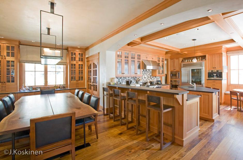 154 Wood Kitchen and Dining - Kitchen in Southwest Colorado