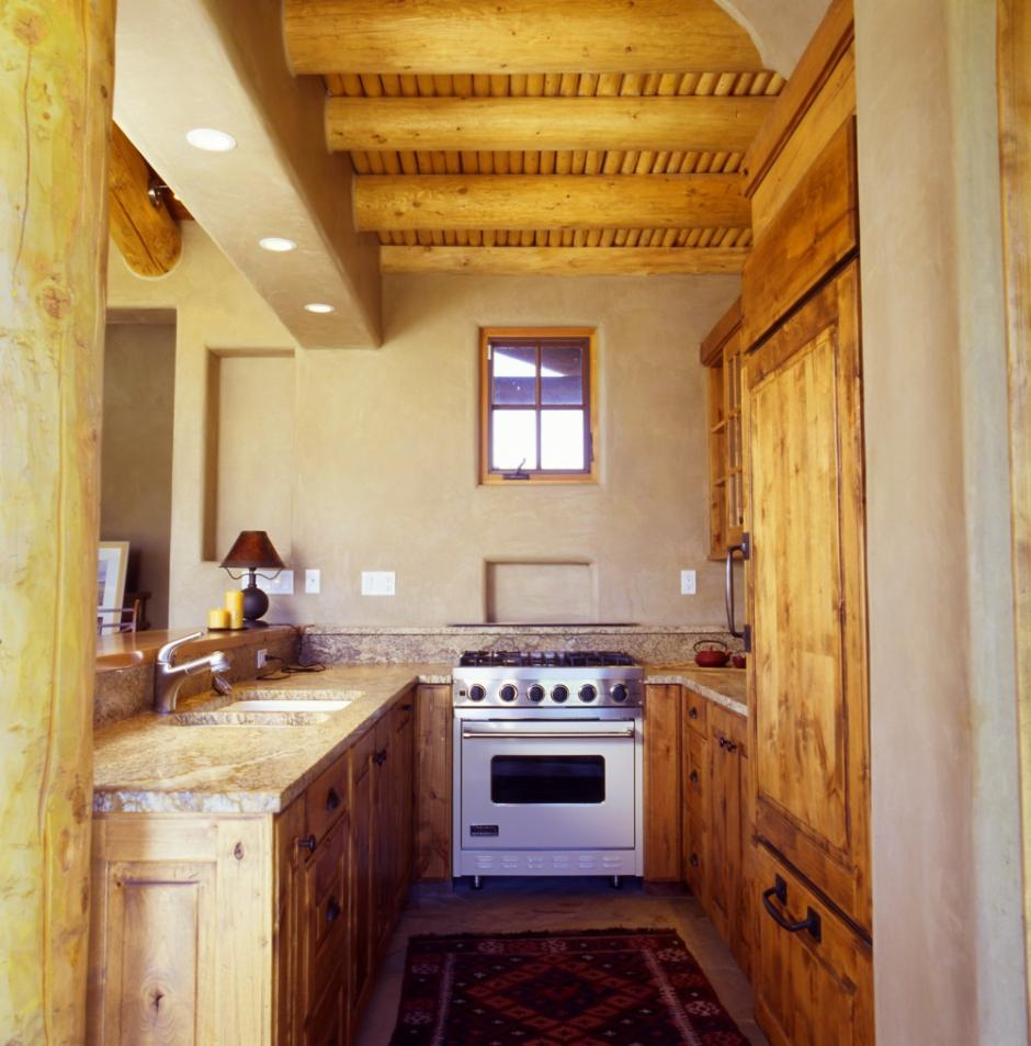 Stone Cabin 1SS Kitchen - Guest Residence in Near Telluride, CO
