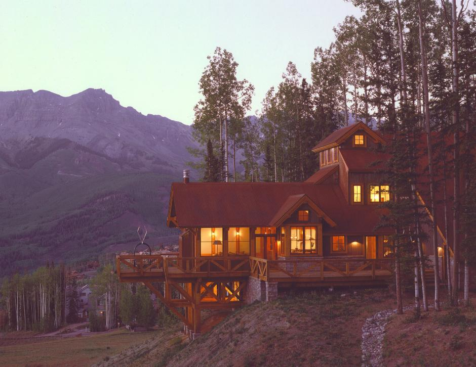 255A Mining Style Evening - Mountain Residence in Colorado