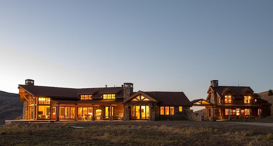 Wide Exterior with Mesa - Ranch House in Telluride, CO