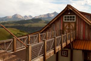 015 Tennis Pavilion - Private Tennis Facility in Telluride